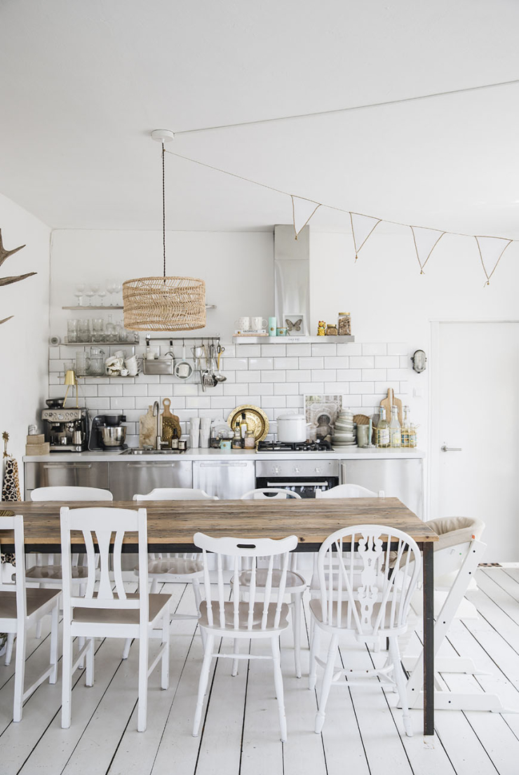 Geliefde Mooi voor in de keuken: zwevende planken - INTERIOR JUNKIE &IW81