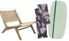 Woonfavorieten: rotan fauteuil + bijzonder vloerkleed