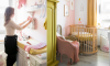 Baby video tour in de roze-gele babykamer van Elise