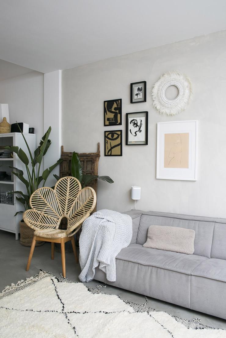 Het beach look huis van blogger Sanne van &Stijl