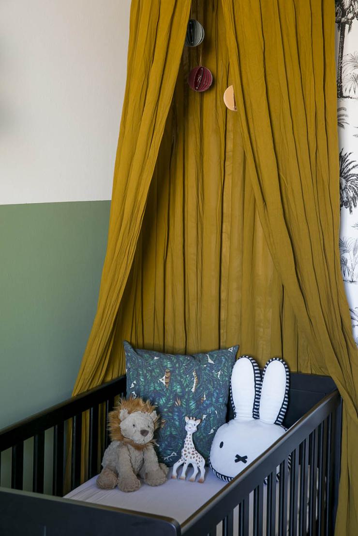 Baby tour in de babykamer van Sophie vol kleur & patronen