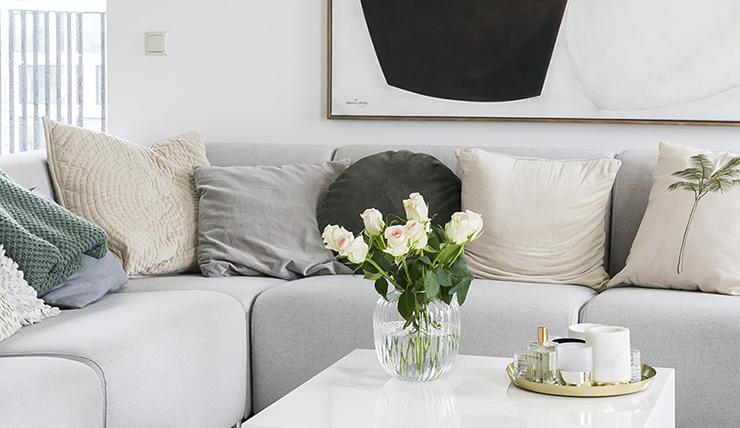 Rust in huis door het gebruik van neutrale tinten