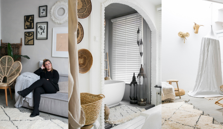 Hometour in het beach look huis van blogger Sanne