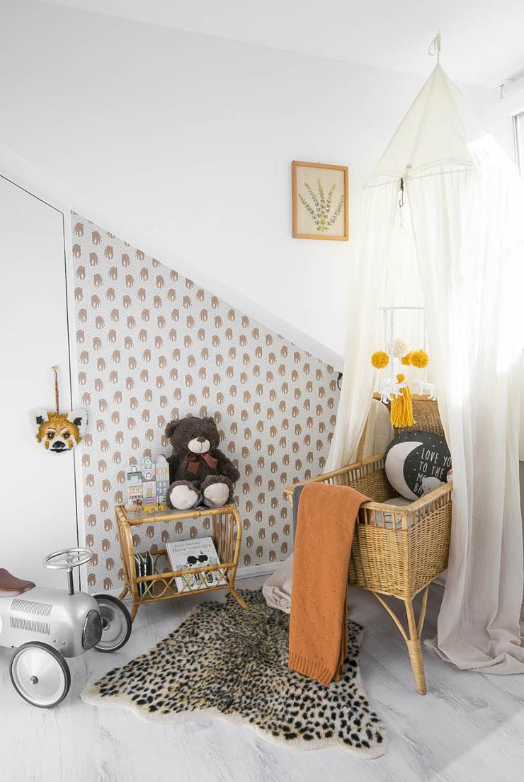 Babykamer tour in de babykamer vol dieren van Adriana