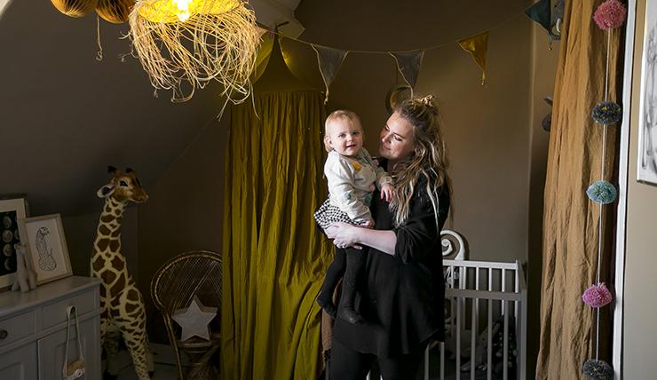 De circus babykamer van Sanne uit Haarlem