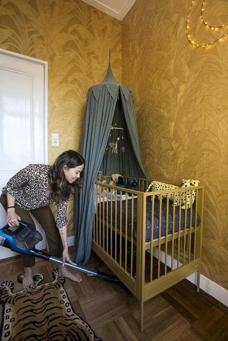 Schoonmaaktips voor thuis met een baby