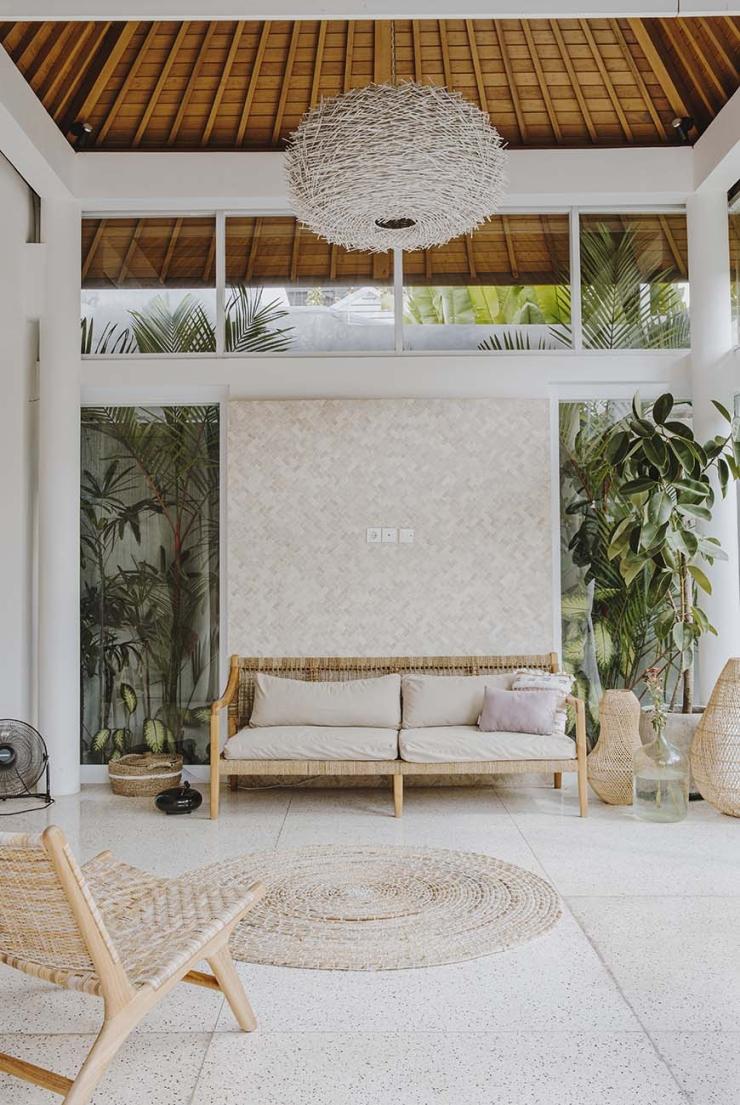 Thuis in een villa op Bali vol natuurlijke materialen