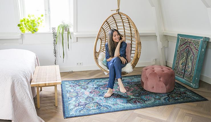 Pleasing Liefde Voor Een Vintage Look Vloerkleed Interior Junkie Dailytribune Chair Design For Home Dailytribuneorg