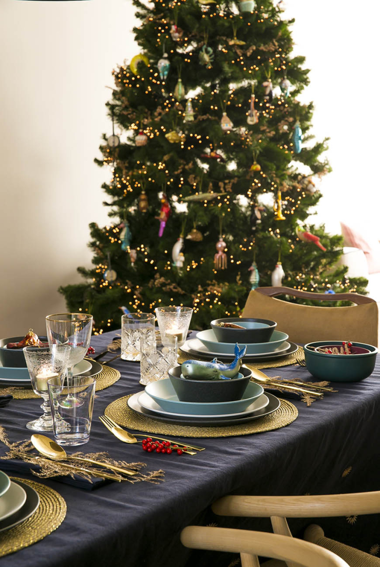 Mijn kersttafel styling