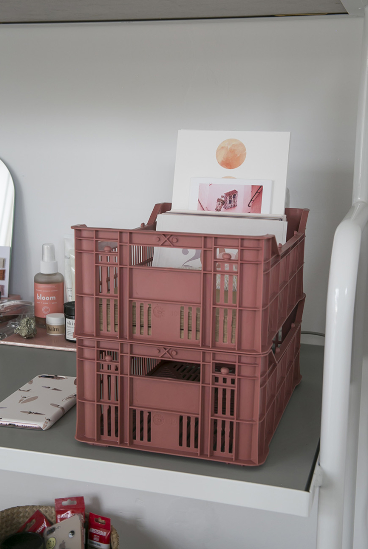 Thuis in het compacte huis vol pasteltinten van Kelly