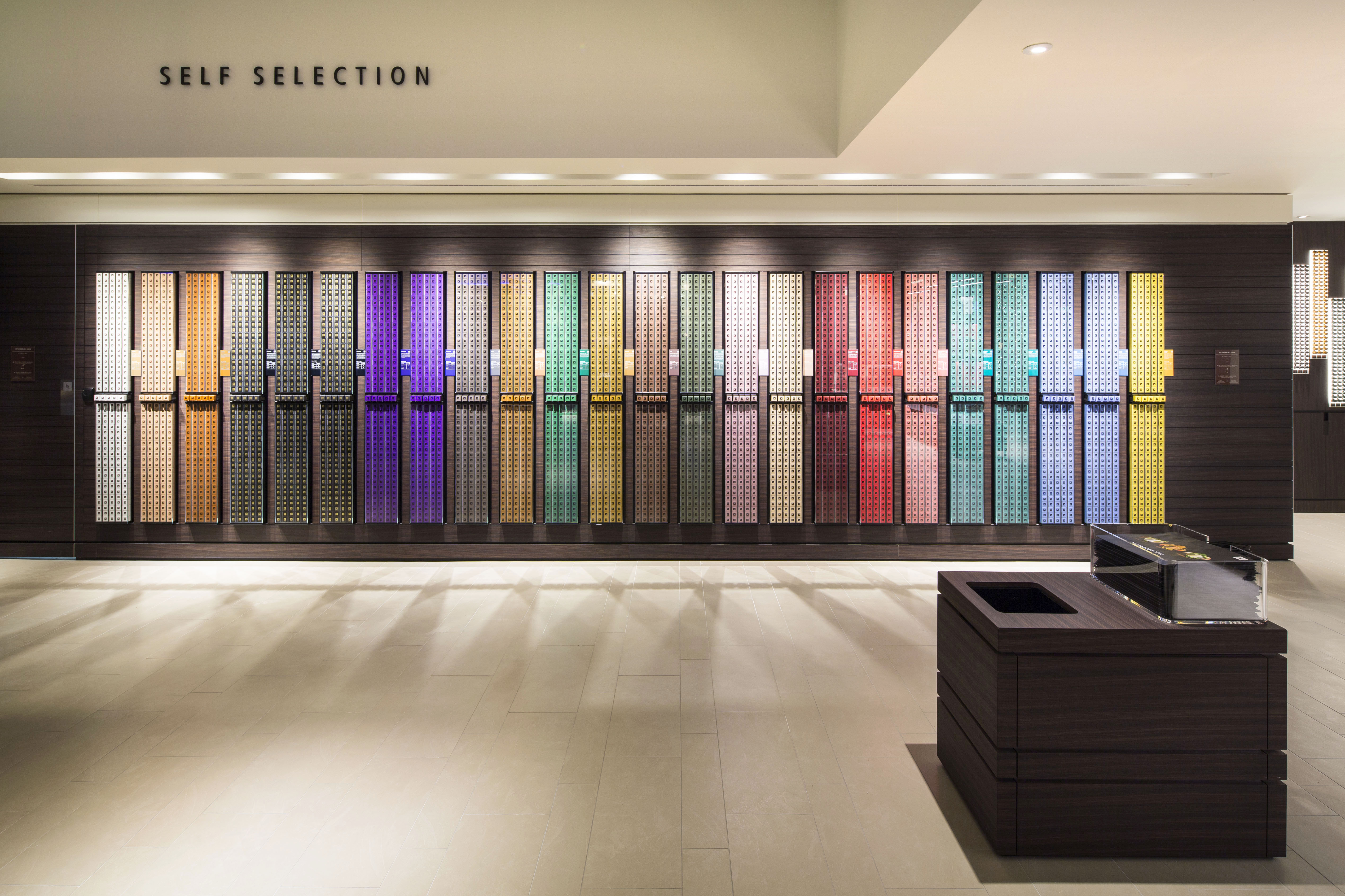 Self Selection Service bij Nespresso - Damespraatjes