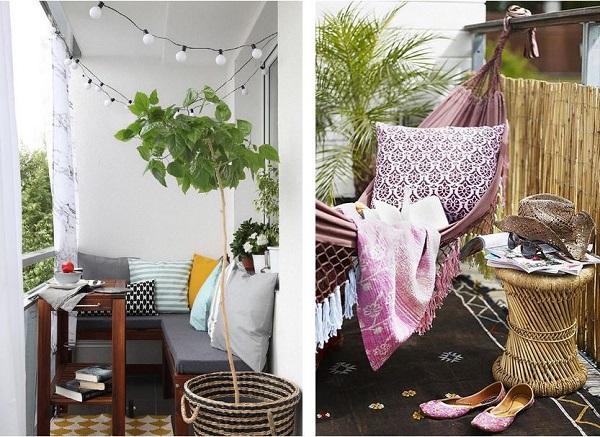 Hangmat Ophangen Balkon.Balkon Inspiratie