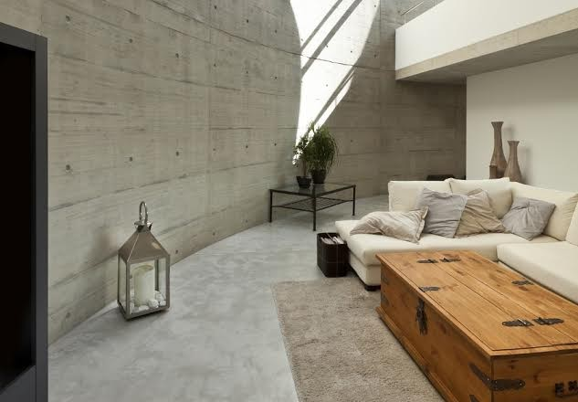 Beton In Interieur : Loft mit beton und klinker einrichtung u monref
