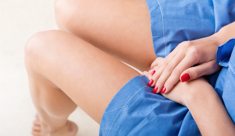 4 manieren om je meer op je gemak te voelen bij de gynaecoloog - stock