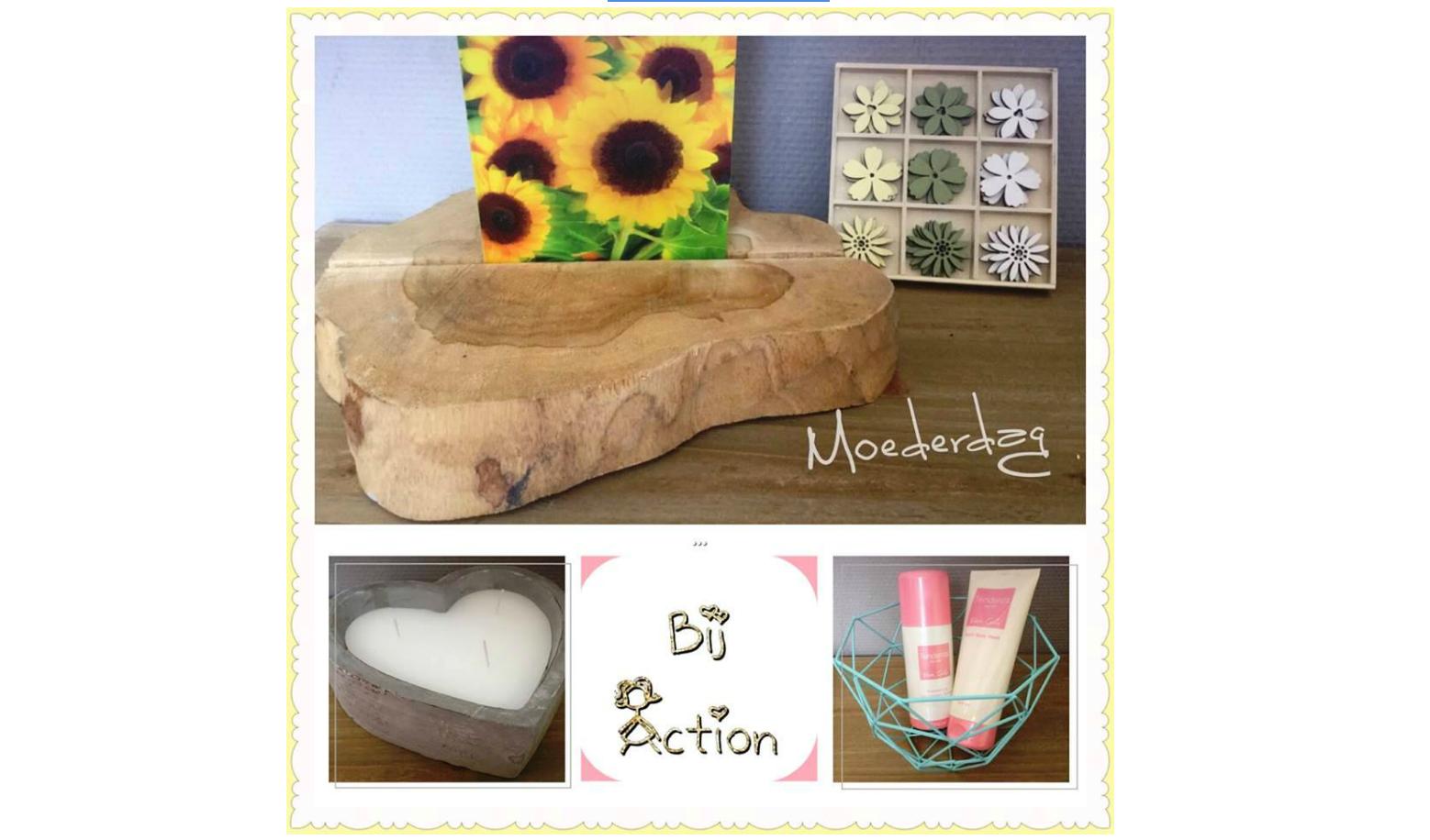 Ria Van De Action Fanpage Geeft 5 Cadeautips Voor Moederdag