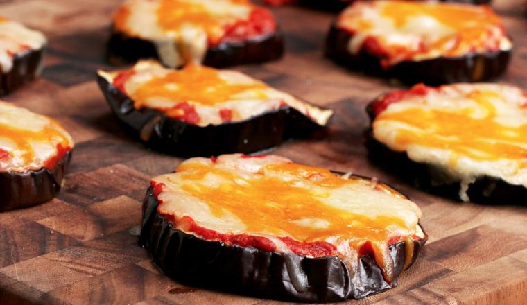 gezond en lekker alternatief voor pizza: de aubergine pizza