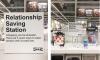 Het IKEA 'red je relatie' schap