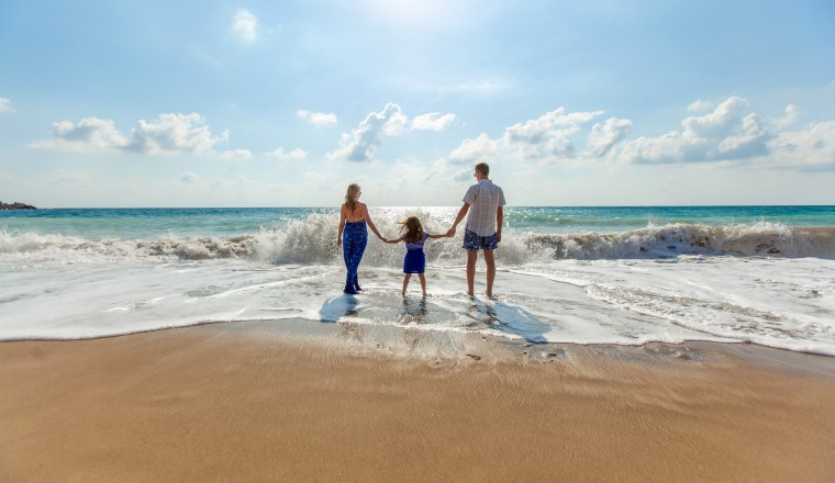 family-on-the-beach-in-paphos-cyprus