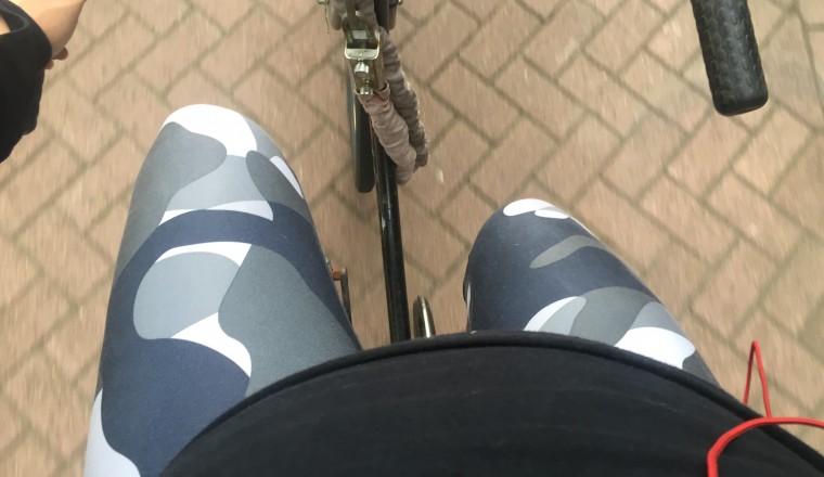 In sportkleding naar kantoor