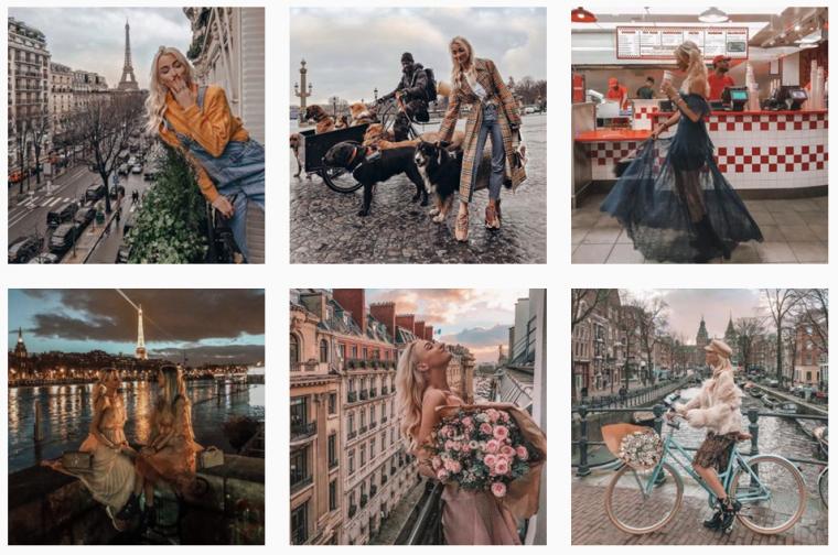 Instagram-feed queen of jetlags