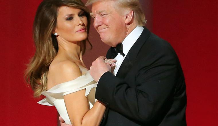 'Scheiding president Trump en Melania hangt in de lucht'