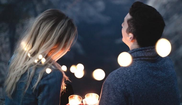 Woman Couple Romance People Talking Man Dating