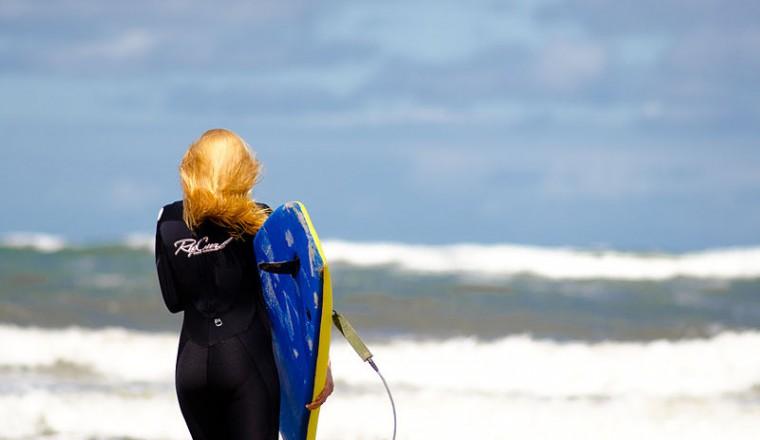 Ook bij kou van natuurwater genieten? Maak gebruik van een wetsuit!