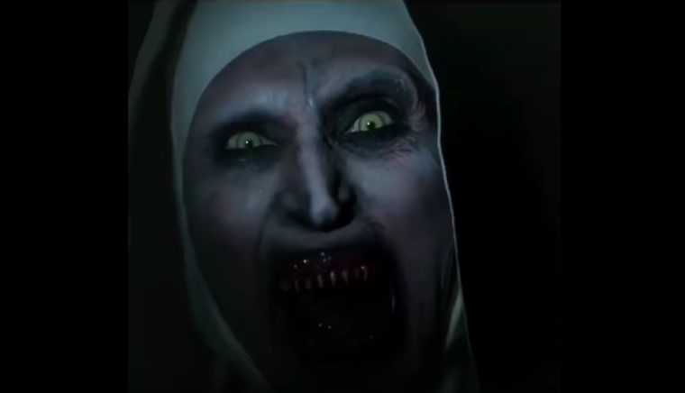 Teaser van horrorfilm 'The Nun' van YouTube verwijderd omdat hij te eng is