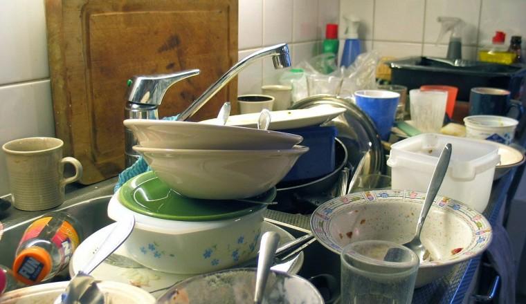 Kan je de afwas doen met handzeep?