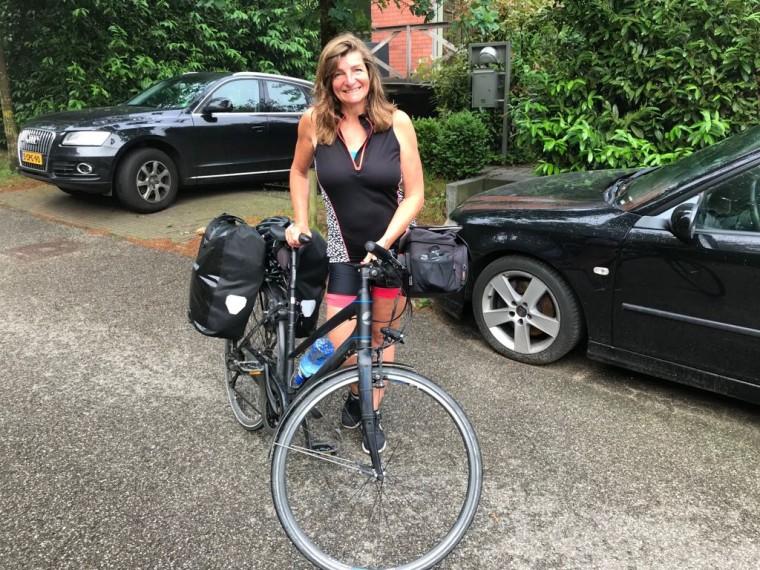 sandra-op-de-fiets-naar-rome