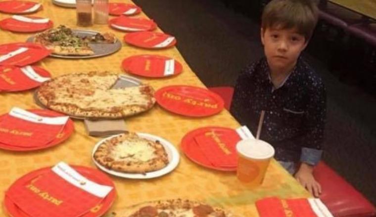 niemand opdagen kinderfeestje