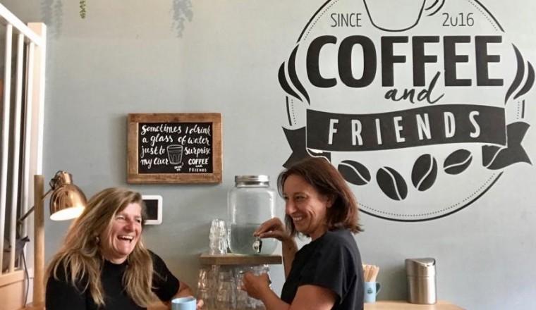 Sandra-Karin-Coffee and Friends