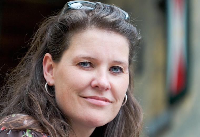 Anne Mulder van Kasteelovernachtingen.nl - foto door Ernie Enkelaar